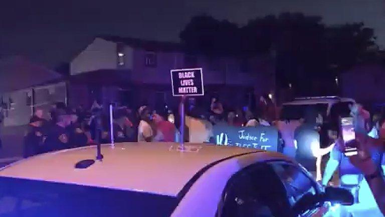 protestas en winsconsin