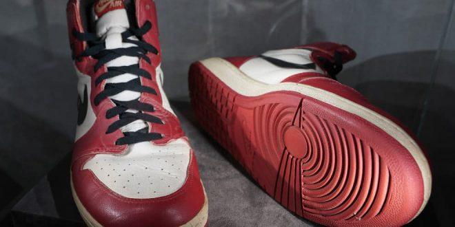 Record mundial: ¡Pagan 615.000 dólares por unas zapatillas!